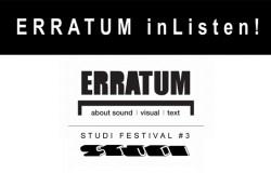 Erratum in Listen (2)