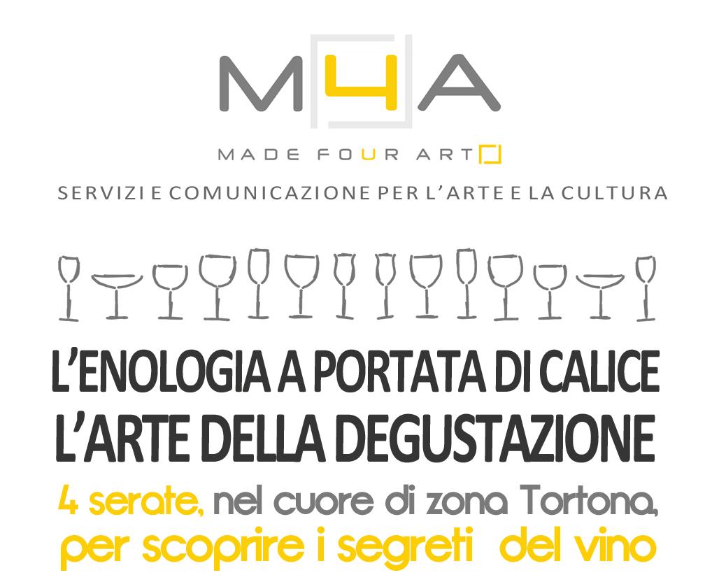 M4A MADE4ART_corso di enologia_zona Tortona_Milano